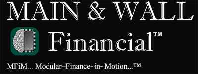 MAIN & WALL Financial, Logo