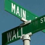 Main Street & Wall Street Sign